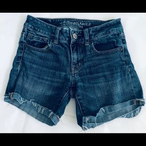 American Eagle Outfitters Shorts - American Eagle Midi Jean Shorts Size 0